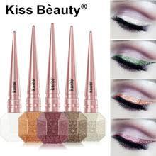 KISSBEAUTY бренд Блестящий жидкая <b>подводка Shimmer</b> Блеск ...