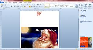 how to make holiday cards for microsoft word and then you should select the text boxes on the card s cover to enter your own text to further format the text right click on the text box to open additional