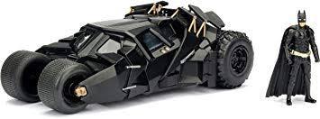 Jada <b>Toys</b> DC <b>Comics</b> 2008 The Dark Knight Batmobile with <b>Batman</b> ...