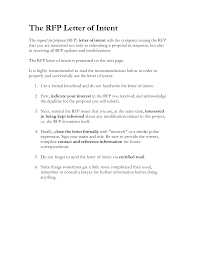 best photos of sample proposal letter of interest sample grant sample letter of intent rfp