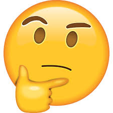 What does the <b>thinking face emoji</b> mean?