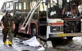 القدس - انفجار في حافلة نقل واصابة عشرين شخص