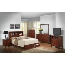 storage panel customizable bedroom set bedroom set light wood vera