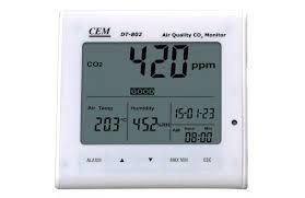 Настольный прибор контроля содержания CO2 в помещении ...