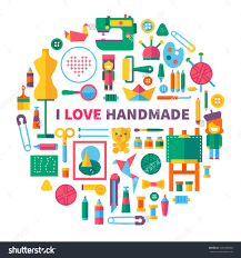 kids room large size craft stock photos images pictures shutterstock i love handmade tools and awesome office table top view shutterstock id