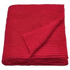 <b>Плед</b>, красный, 130x170 см <b>IKEA ИГАБРИТТА</b> 804.518.28 купить в ...