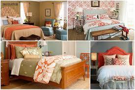 Orange Bedroom Wallpaper Bedroom Interactive Kid Blue And Orange Bedroom Decoration Using