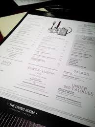 room manchester menu design mdog:  mdog the living room manchester menu