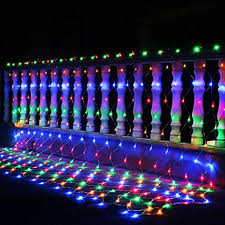 Buy ZZEBRA <b>3M x</b> 2M 200 LED Net Light Curtain Net String Light ...