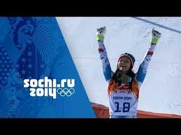 Alpine Skiing - Ladies' Super <b>G</b> - Anna Fenninger Wins <b>Gold</b>   Sochi ...