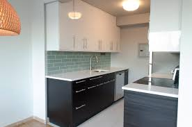 kitchen layout black white white wall paint interior decor in small kitchen with black cabinetry