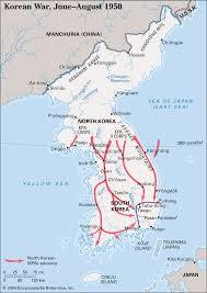 <b>Korean</b> War | Combatants, Summary, Years, Map, Casualties ...