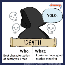death in the book thief click the character infographic to