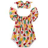 OUTGLE Infant <b>Off Shoulder Onesies</b> Newbo- Buy Online in Trinidad ...