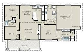 Ranch Style House Plan   Beds Baths Sq Ft Plan     Ranch Style House Plan   Beds Baths Sq Ft Plan