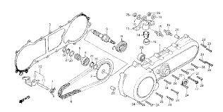 1980 honda express ii na50 left crankcase cover starter parts schematic search results 0 parts in 0 schematics