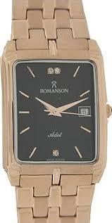 Мужские наручные <b>часы</b> Romanson TM8154C MR BK: купить по ...