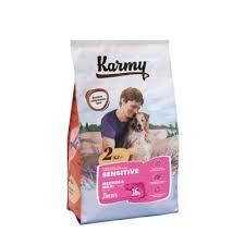 <b>Сухой корм Karmy</b> Sensitive (лосось) для собак – купить в Омске ...