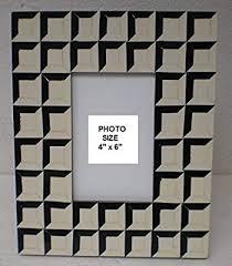 BLACK & WHITE CHECK STYLE PHOTOFRAME - Amazon.com