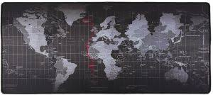 <b>Anti</b>-<b>Skid</b> Mousepad Extended Super Large <b>World Map</b> Keyboard ...