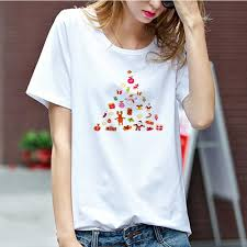 <b>LUS LOS</b> HAPPY HALLOWEEN Bat print Letter t shirt for women ...