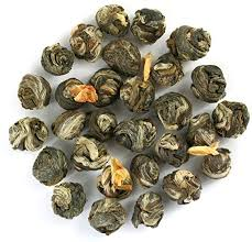 <b>Jasmine</b> Pearls (<b>Dragon Pearls</b>) Premium Loose Leaf Green Tea ...