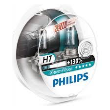 <b>Лампа</b> галогенная <b>PHILIPS</b> H7 <b>X</b>-<b>treme</b> Vision 3700K 12V 55W, 2 ...