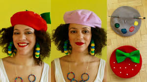 diy beret + <b>2</b> dior inspired berets paris culture couture