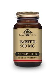 <b>Inositol 500 mg</b> Vegetable <b>Capsules</b> - Pack of 50 | Solgar Vitamins ...