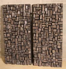 MY WORKS   <b>Акустические панели</b>, Деревянная стена, Стена