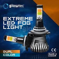 <b>1pair DUAL COLOR</b> FOG LED light Car driving Bulbs H1, H3 H7, H8 ...