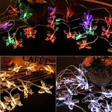 <b>HNGCHOIGE</b> 2.2m 20 <b>LED</b> Waterproof Butterfly Fairy String Light ...