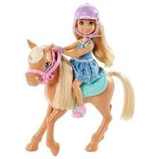 «<b>Кукла Mattel Barbie</b> DYL42 Барби Кукла Челси и пони ...
