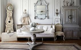 elegant chic small white home