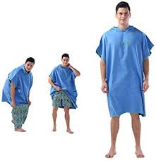 Microfiber Surf Poncho Beach Towel - Wetsuit ... - Amazon.com
