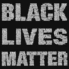 Image result for IMAGE OF BLACK LIVES MATTER