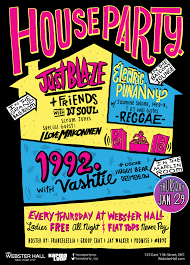 house party invitation net invite the party at webster hall x house party party invitations
