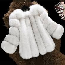 Выгодная цена на Черно Бурой Лисы <b>Пальто</b> — суперскидки на ...