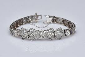 Edwardian <b>14k Gold</b> Filigree <b>Diamond</b> Bracelet | Fairfield Auction, LLC