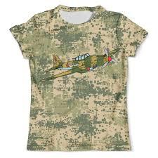 "Футболка с полной запечаткой (мужская) ""Military"" #2641974 от ..."