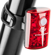 MICRO BOT - <b>USB Rechargeable Tail Light</b> for <b>Bikes</b> - CycleTorch