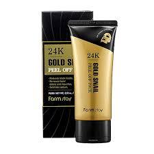 <b>Farm Stay 24K Gold Snail</b> Peel Off Pack 100g