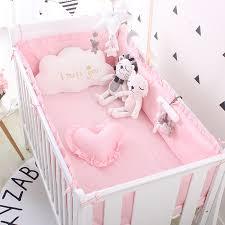 Розовый <b>Детский Комплект постельного белья</b> принцессы из 100 ...