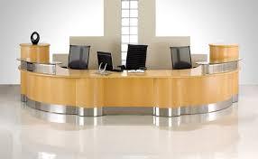 Interesting Office Lobby Furniture Oak Encounter Reception Walnut Large E  T