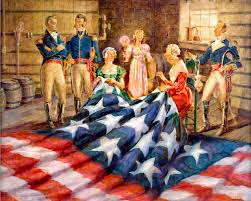 「1931, The Star-Spangled Banner nade by a house wife」の画像検索結果