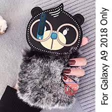 KC Big Spectacles Fur Bear Soft Bumper <b>Silicone</b> Back: Amazon.in ...