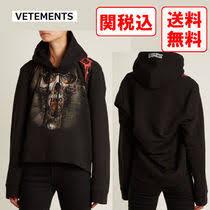 <b>VETEMENTS</b> Street Style <b>Long Sleeves</b> Cotton <b>Hoodies</b> by ...
