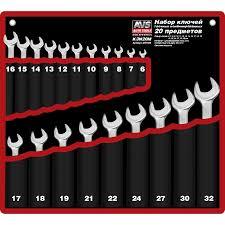<b>Набор ключей</b> комбинированных 6-32мм 20 пр.K3N20M A07692S ...