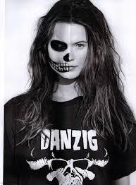 half skull makeup behati prinsloo