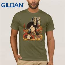 <b>GILDAN japanese tattoo ukiyo e</b> Bushido kendo sword samurai T ...